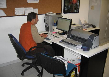 In Ufficio Tecnico : Ufficio tecnico e amministrazione